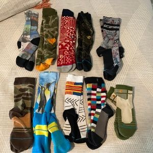 Huge stance sock lot 10 pairs